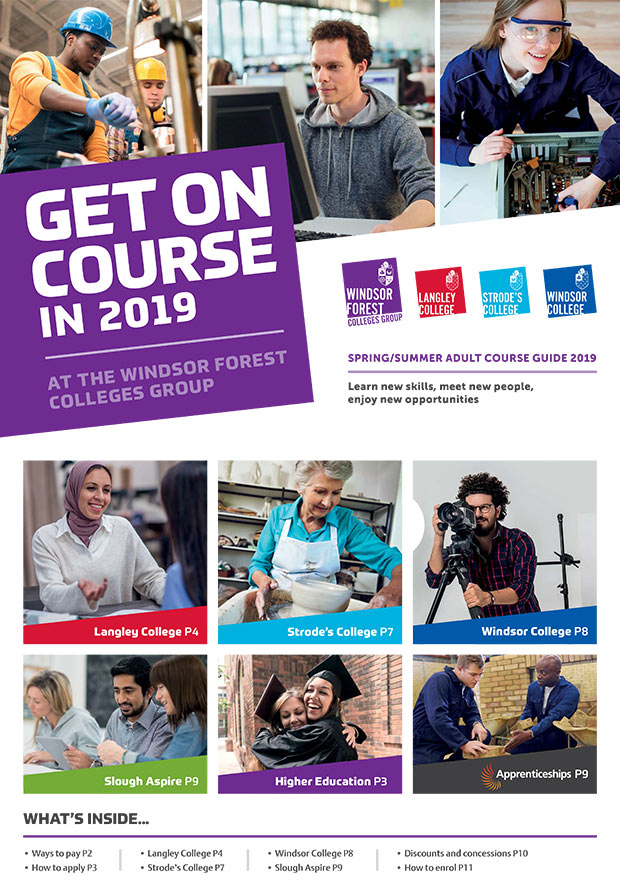 Adult Course Guide Spring/Summer 2019