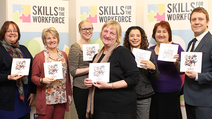 Skills for the workforce web press