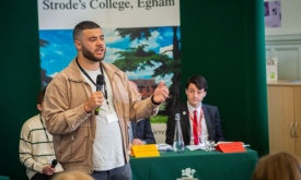 Students hold pre-election debate with local candidates