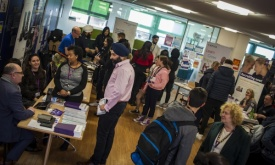Explore careers options at Strode's College Higher Education Fair